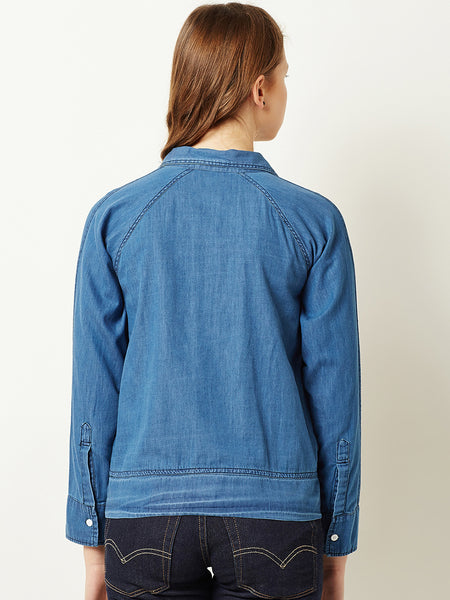 Privacy Please Denim Jacket