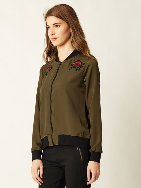 Lost In The Wind Bomber Jacket