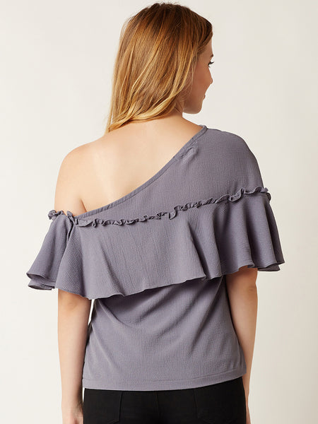 Nearly There One Shoulder Top