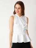 Light The Stars Ruffled Top