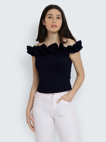 Be My Distraction Bardot Top