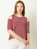 Easy Sunday Morning Striped Top