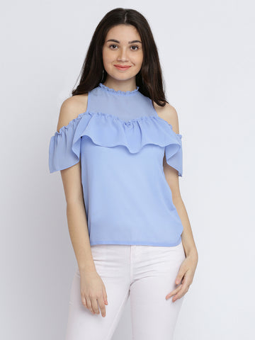 ae7b1423b07 Hands To The Sky Shoulder Cut Out Top ...