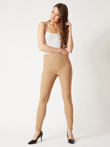 Stepping Stone Zipper High Waist Jeggings