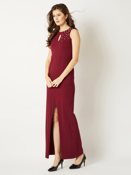In Spotlight Pearl Maxi Dress