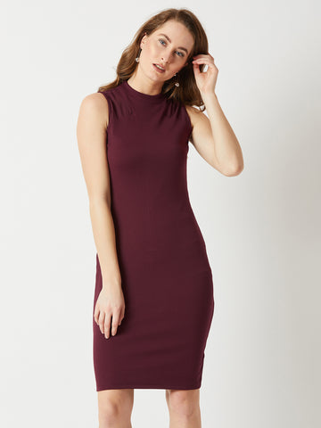 Collect Beautiful Moments Sheer Bodycon Dress