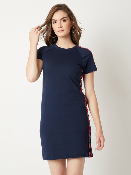 Present Me This Twill Shift Dress
