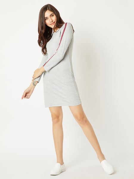 The Final Show Twill Sleeve Dress