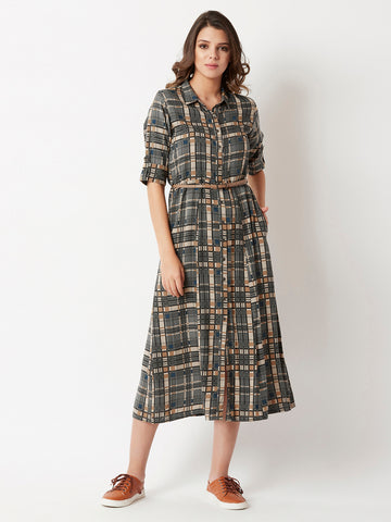 Worry About Tomorrow Shirt Dress