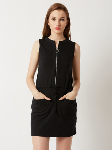 Tough Times Belted Dress