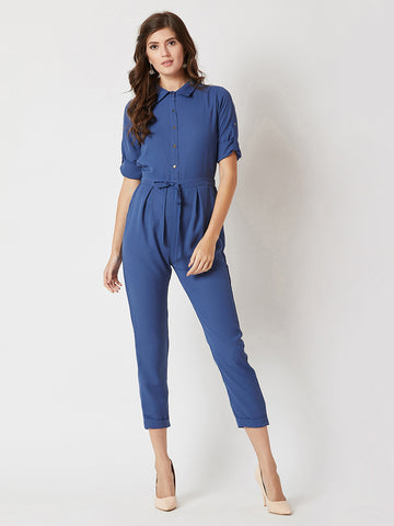 Cherish Your Love Tie Up Jumpsuit