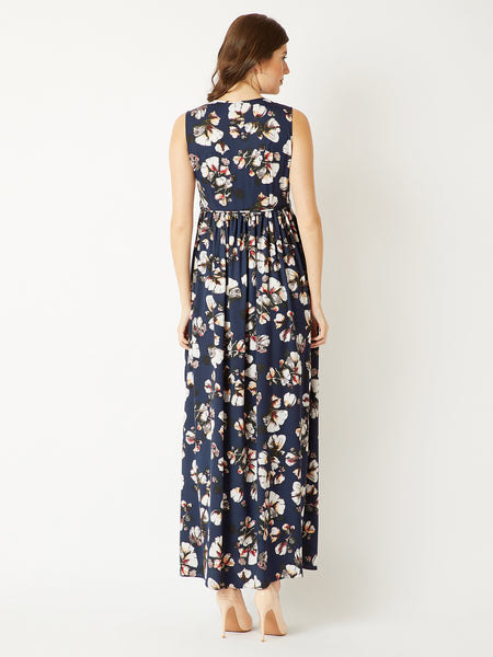 The Love For Floral Maxi Dress