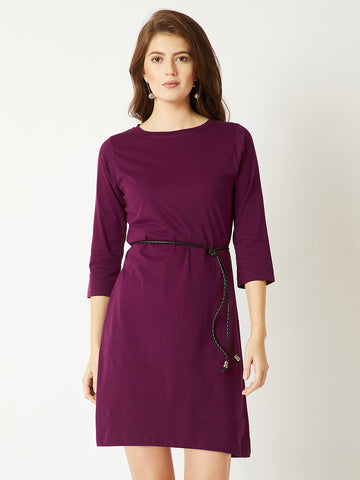 Happy Trails Belted Dress