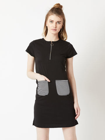 Promise Me Striped Pocket Shift Dress