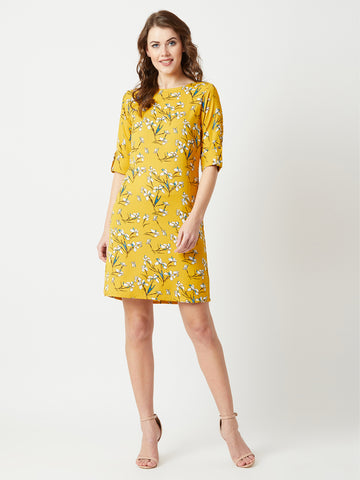 Florals for Spring Shift Dress