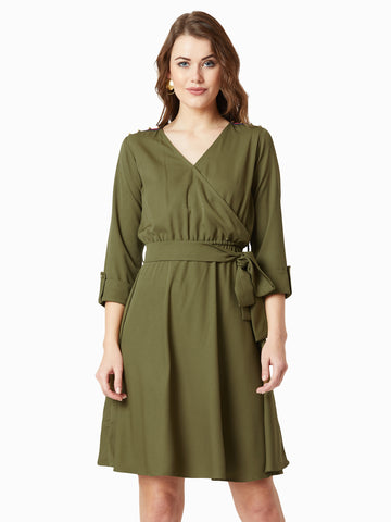 Call It A Day Wrap Dress