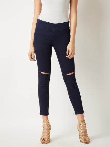 We Found Love Denim Slit Jeggings