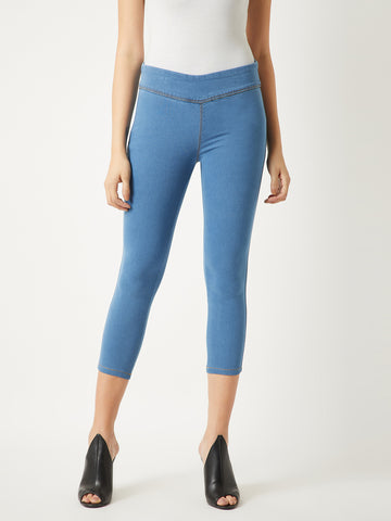 Always On My Mind Denim Capri