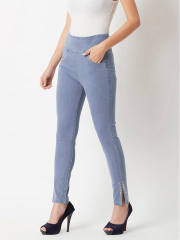 The Killer Angles Denim Jeggings