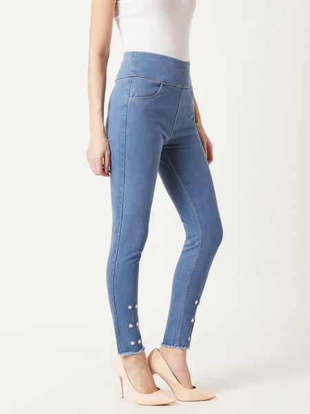 Stay Tuned Skinny Highrise Jeggings