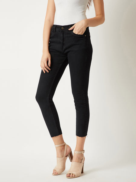 Leave Me Breathless Cropped Jeans