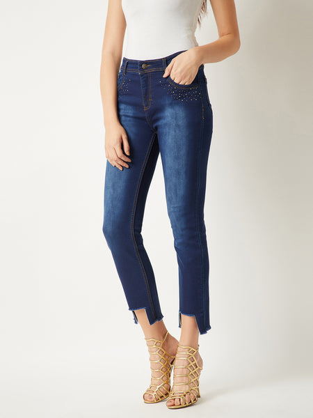 Wasted Dates Studded Jeans