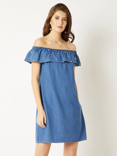 Perfectly Imperfect Denim Dress