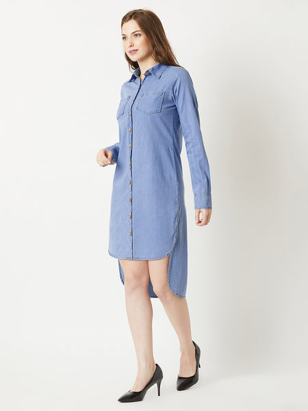 If you like it denim dress