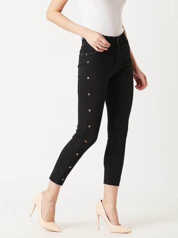 Think Different Cropped Jeans