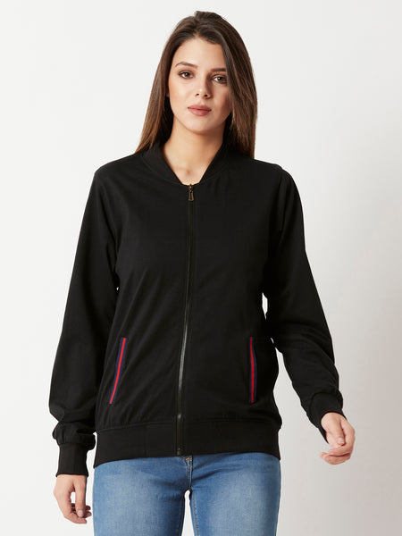 Glass Glare Zipper Jacket