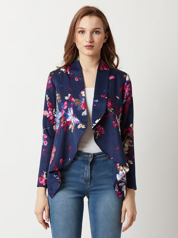 Chill With Me Floral Printed Jacket