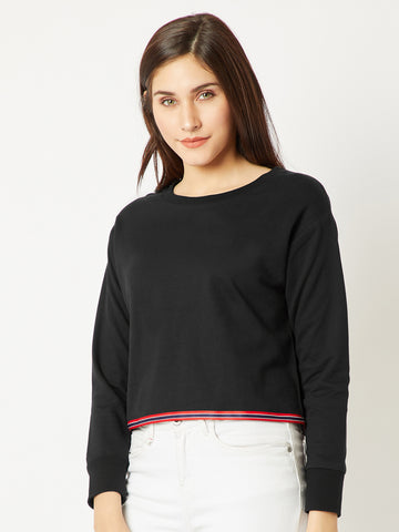 A Different Way Crop Sweatshirt
