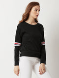 Flip Away Rib Sweatshirt