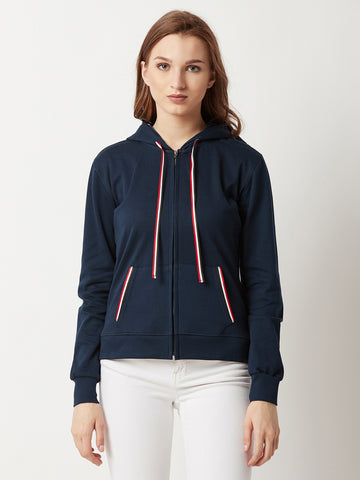 Just For Comfort Twill Hooded Sweatshirt