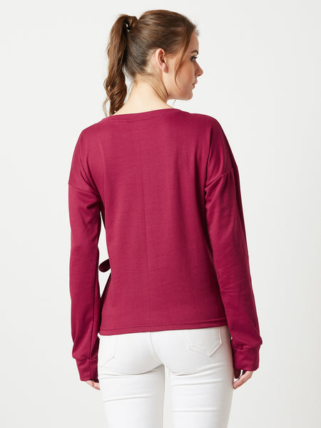 Rock Bottom Eyelet Sweatshirt
