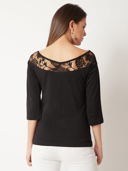 Replay This Pearl Lace Top