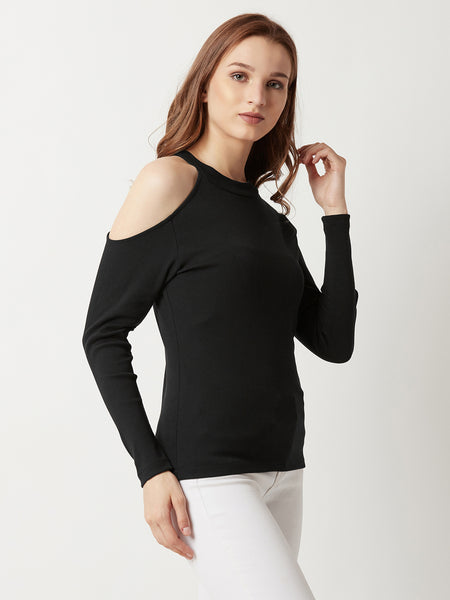 Some Extra Shoulder Cut Out Top