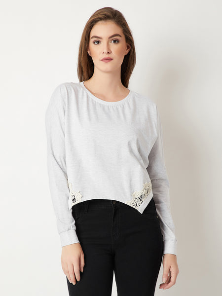 Sing Me To Sleep Lace Top