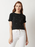 It Is Enough Pearl Crop Top
