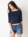 Revelry Rebel Pearl Sleeve Top