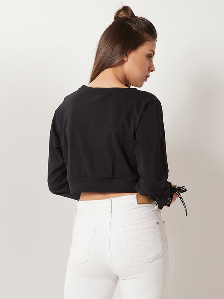 Connect With Me Eyelet Sleeve Top
