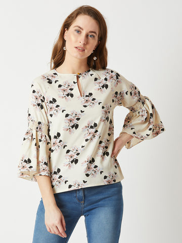Get Some Spark Gather Sleeve Top