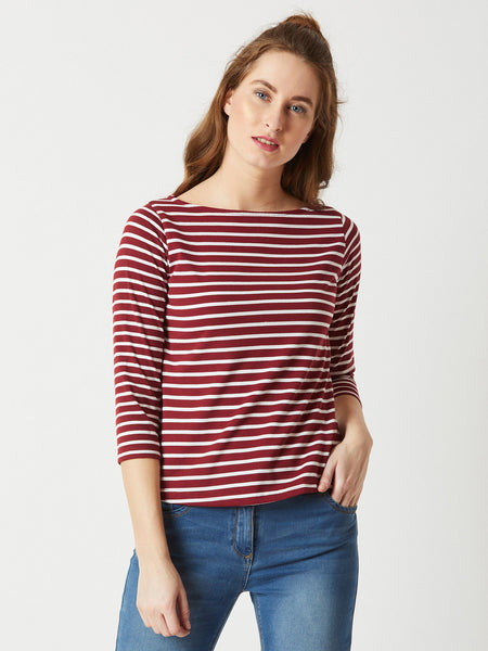 No Matter What Striped Top