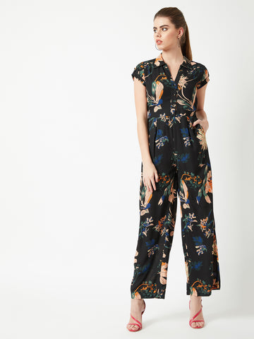 Timeless Peace Floral Printed Jumpsuit