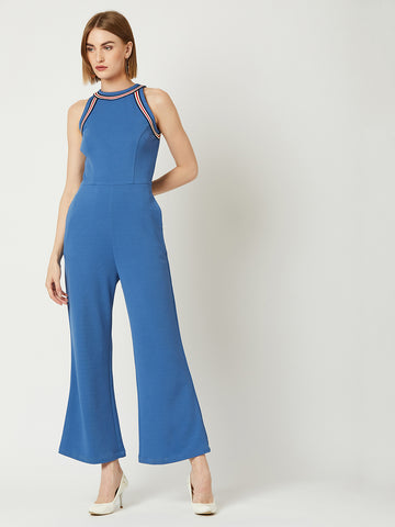 Perfect Combination Halter Neck Jumpsuit