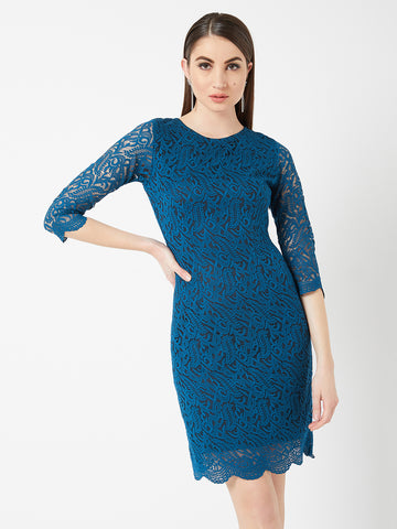 Showstopper Lace Bodycon Dress
