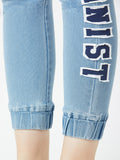 Made in heaven denim joggers