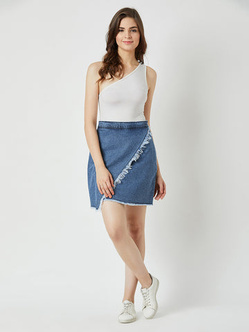 Just Queening Denim Skirt