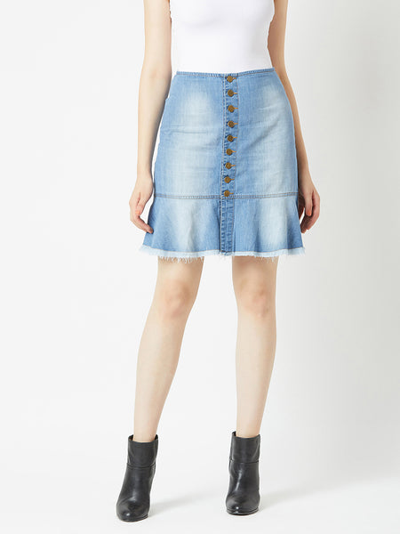 Breakaway denim Skirt