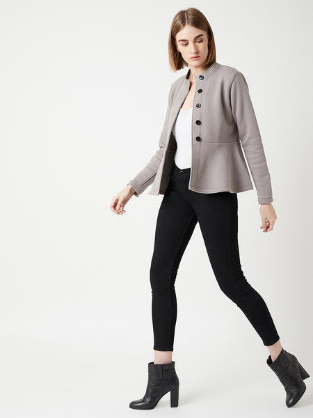 City And Statement Peplum Jacket